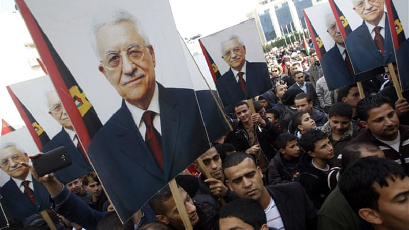 Abbas said he would follow the UN move with steps to bridge the divide between his Fatah and its rival Hamas [Reuters]