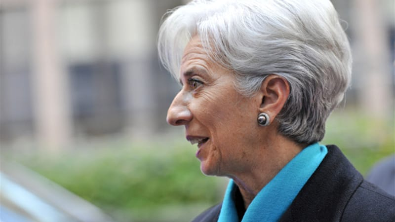 Christine Lagarde, head of IMF, said talks would see all parties 'work towards a credible solution for Greece' [AFP]