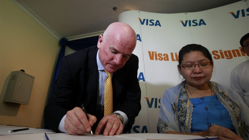Also on Saturday, a deal was signed allowing foreign credit cards in the country for the first time [EPA]