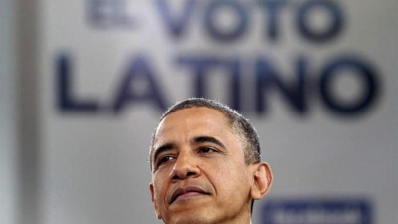 Although Latinos traditionally vote democrat, they still remain as one of the strongest voting blocks [REUTERS]