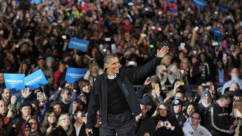 "Obama's re-election is a ""big deal within the context of American politics today"" [AFP]"