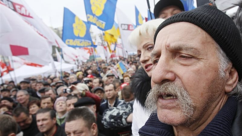 Ukraine opposition alleges election fraud