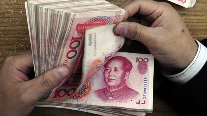 Rrenminbi is within a balanced exchange-rate band that is appropriate to its foreign-trade balance [Reuters]