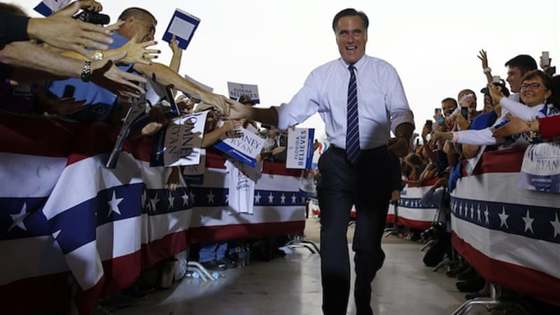 "Trying to appeal to the Right while facing various nutcase candidates, Romney shot himself in both feet, labelling himself a ""severe conservative"" and staking an extreme anti-immigration position [Reuters]"