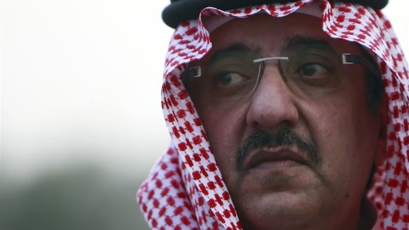 Mohammed bin Nayef bin Abdulaziz has been dubbed 'the prince of counterterrorism' [File: Reuters]