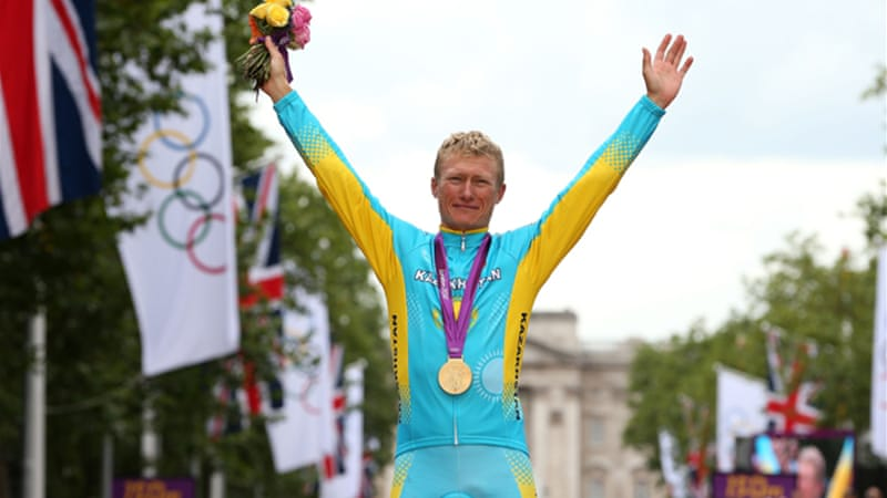Vinokourov retired from professional cycling soon after winning Olympic gold in the road race at the London Games in July [GALLO/GETTY]