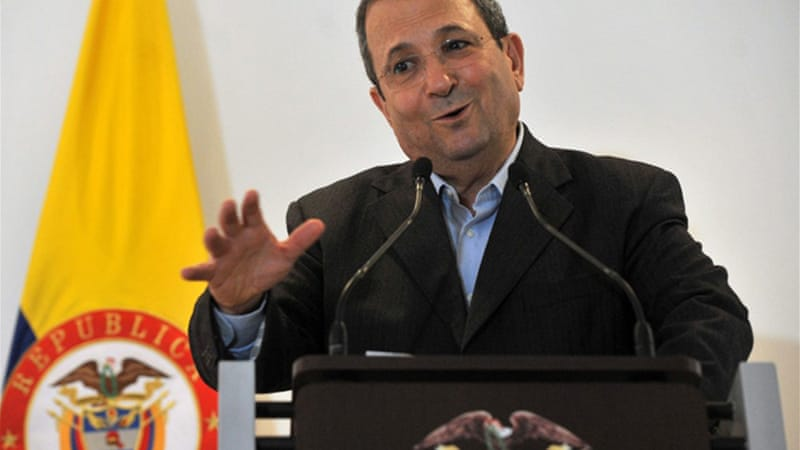 "Ehud Barak's selling point during his Colombian visit was that ""the technical intelligence provided by drones helps reduce the failure rate seen in operations in which only human intelligence is relied upon"" [AFP]"