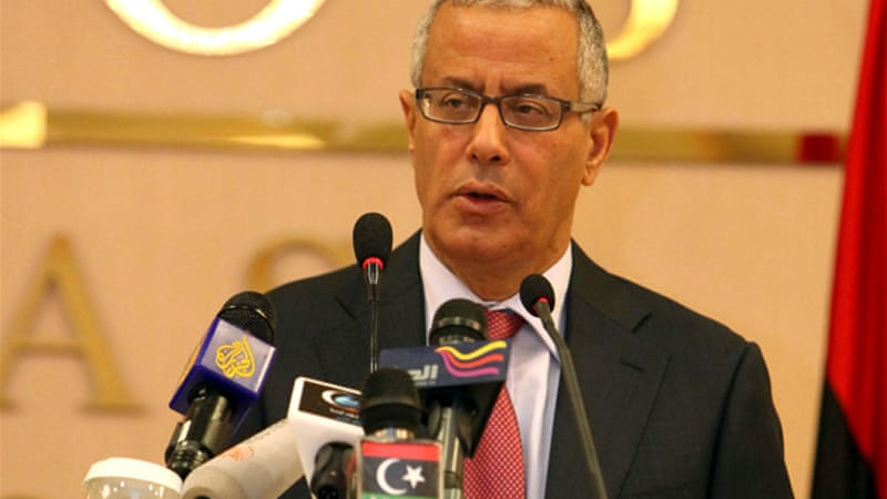 Zidan has excellent credentials and appears to be supported by Libya's two most powerful parliamentary blocs [EPA]