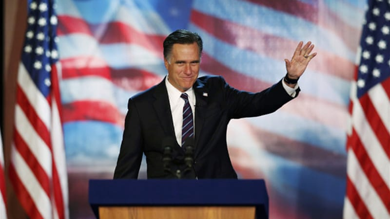 Mitt Romney was so confident that he would win the election, he hadn't even written a concession speech [REUTERS]