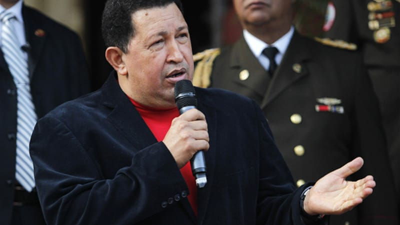 "If Obama hopes to make any real ""change"", then he should look toward emulating in part Chavez's reforms [REUTERS]"