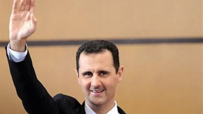 Secretary of State Hillary Clinton publicly confirmed last year that Assad could be prosecuted for war crimes [AP]