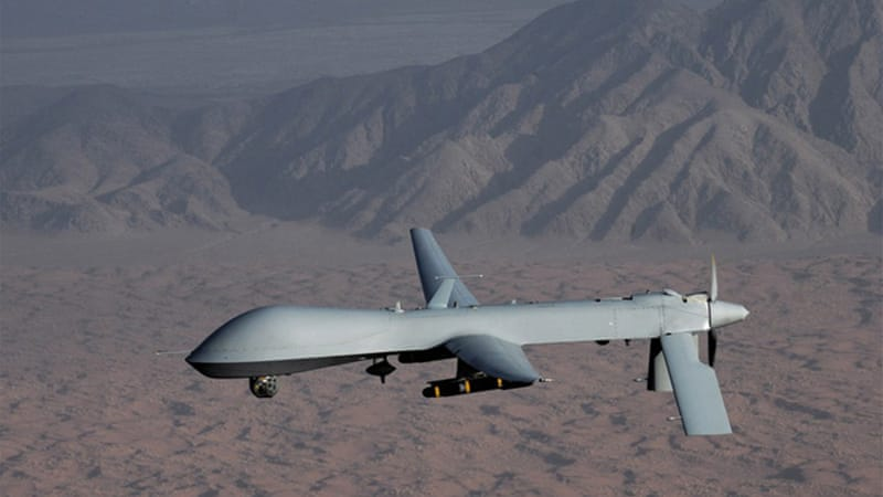 There are 7,000 drones in the US armada of unmanned aircraft, including 800 larger missile-firing drones [REUTERS]
