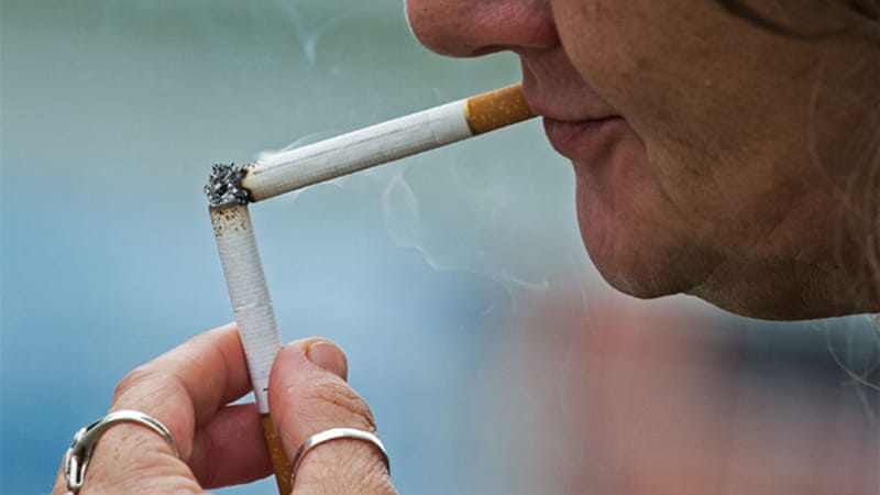 Smoking remains the world's leading cause of cancer death [AFP]