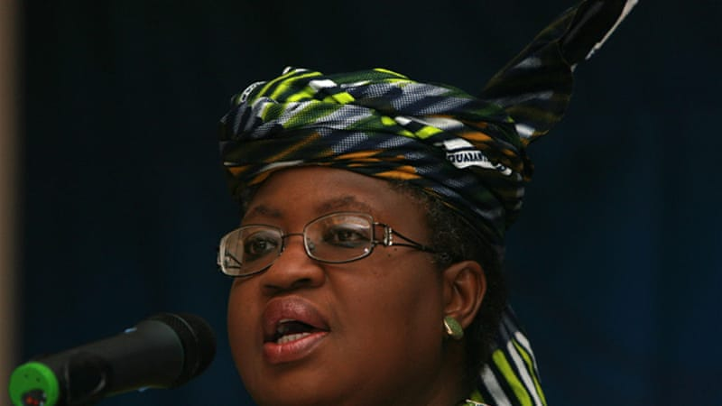 Nigerian Finance Minister Ngozi Okonjo-Iweala had received threats in the past [EPA]