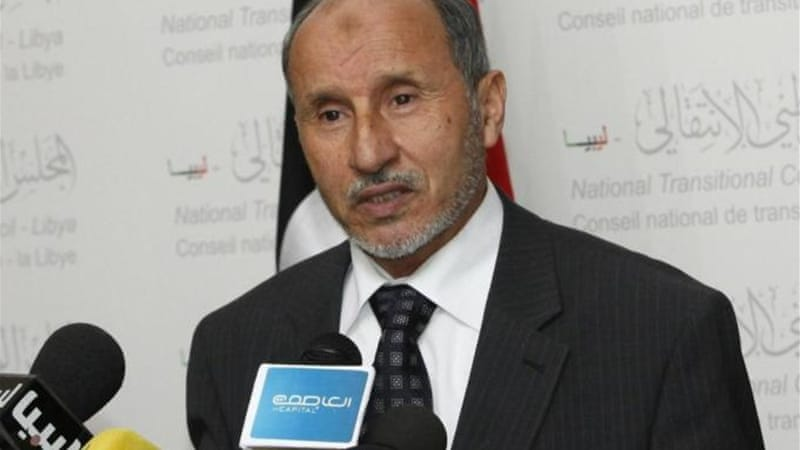 Abdel Jalil headed the National Transitional Council during the uprising against Gaddafi [Reuters]
