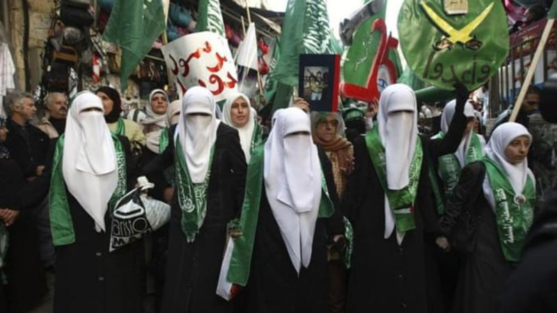 "Hamas and its supporters consider the recent conflict with Israel a ""victory"" for the 25-year-old group [AP]"