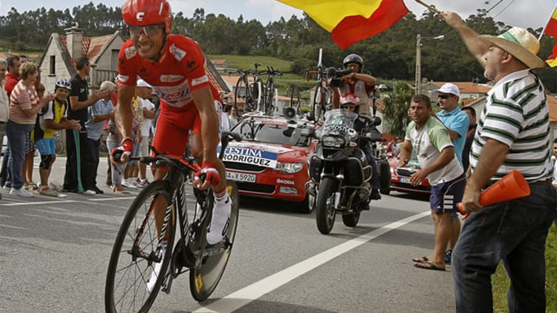 The decision means Katusha, including world number one Joaquim Rodriguez, will need an invitation to take part in the Tour de France, the Giro d'Italia and the Tour of Spain, amongst other races [EPA]