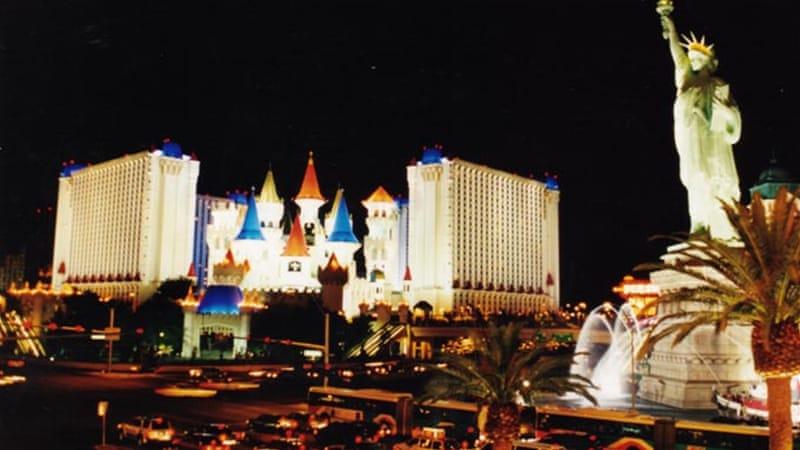 Excalibur Hotel And Casino Inside