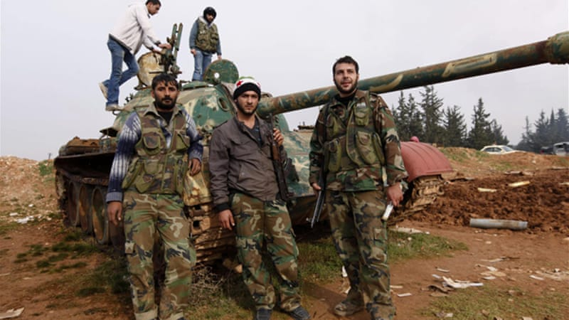 Rebel forces have made large military gains in the country's north in recent weeks [Reuters]