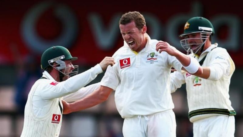 Siddle, man of the match with nine wickets in the first Test against Sri Lanka, backs Australia's bowling rotation policy [Getty Images]