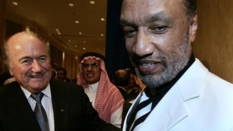 Former president Mohamed bin Hammam of Qatar, pictured right, stepped down last year amid allegations of corruption, which he denies [Reuters]