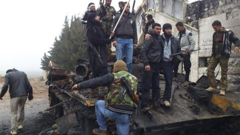 Free Syrian Army fighters have captured several army installations across Syria [Reuters]