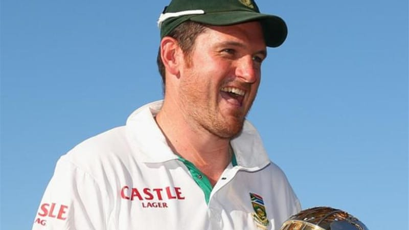 Graeme Smith captained South African team to success on field and became most-capped Test captain [GALLO/GETTY]