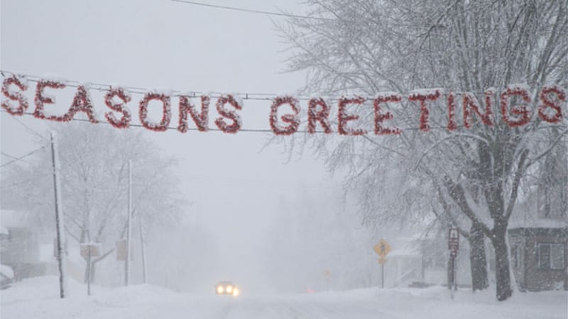 Governor Scott Walker declared a state of emergency in Wisconsin as the snow storm bore down on the State [EPA]