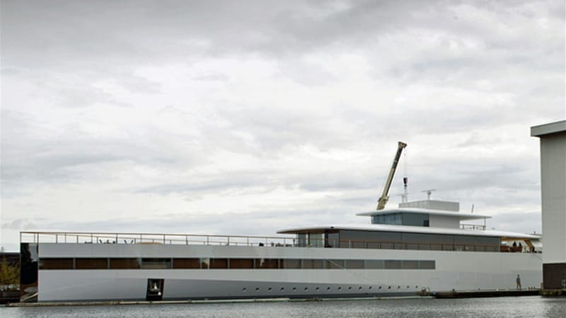 Steve Jobs All Aluminum Yacht Was Reportedly Built At A Cost Of 138 Million