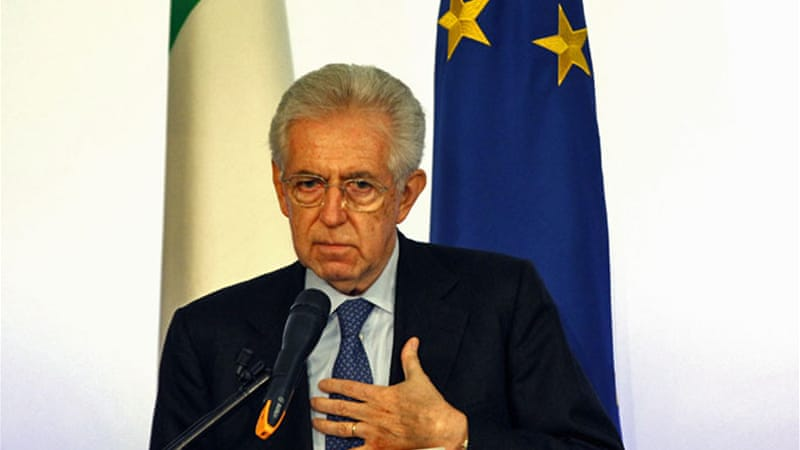 "Mario Monti's government ""did nothing to alleviate the lending crisis"" that started in 2008 and negatively affects many productive SMEs that ""desperately need credit to keep afloat"" [Reuters]"