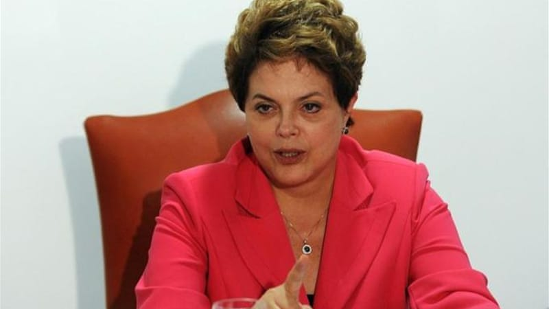 "President Dilma Rousseff's has launched a ""transparency offensive"" that has had remarkable results so far [AFP]"