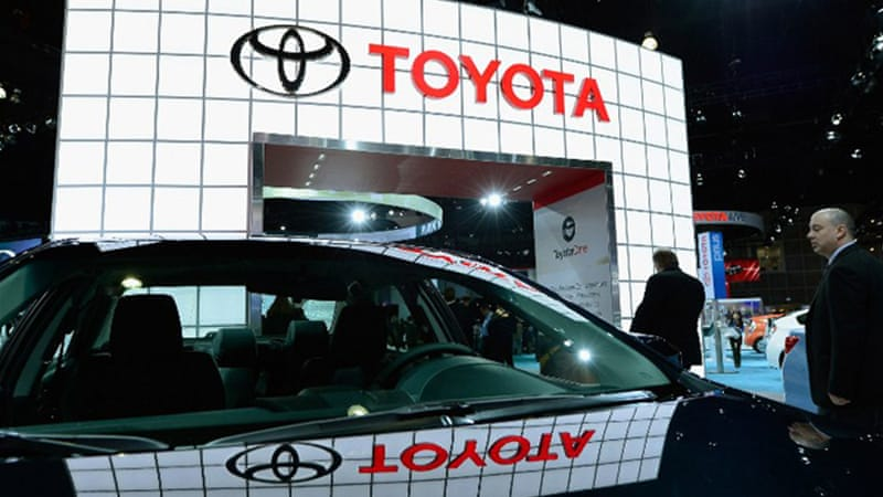 Toyota has agreed to pay $1.1bn in the settlement of a lawsuit about faulty cars [AFP]