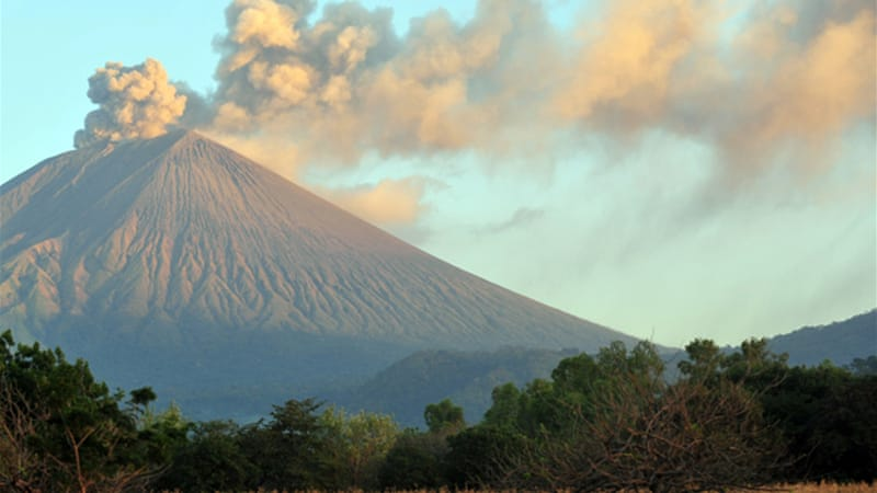 A government spokesperson said 15 eruptions had been recorded over the last day at the volcano [AFP]