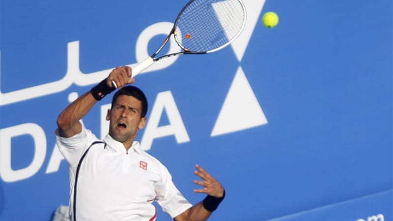 Djokovic, who won the title last year, will face Nicolas Almagro in the final [Reuters]