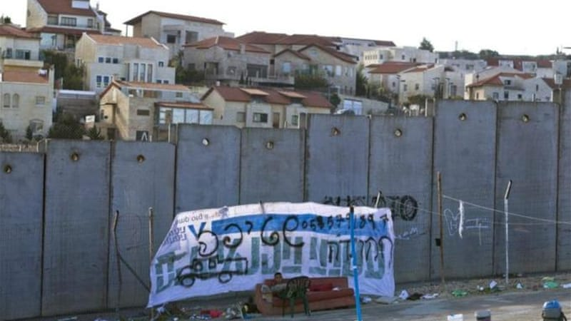 Palestinian objections to increased Israeli settlements has halted peace talks since 2010 [EPA]