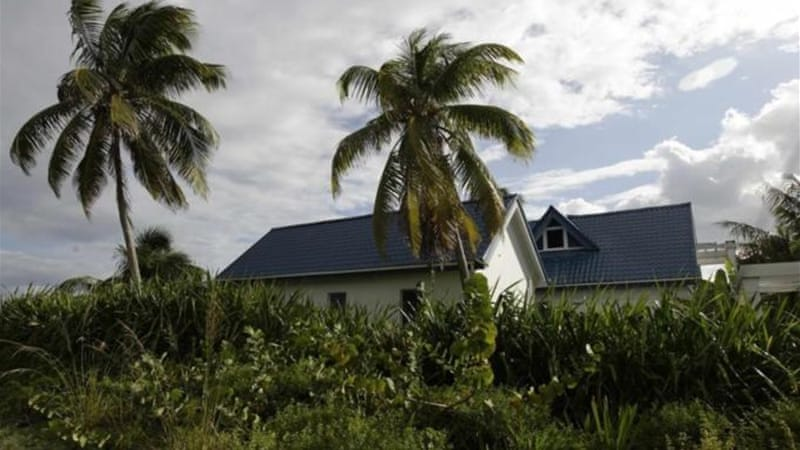 McAfee has lived on the Caribbean island of Ambergris Caye in Belize for about four years [Reuters]
