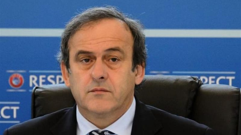 Platini is under pressure after criticism directed at new Euro project and struggling Europa League [AFP]