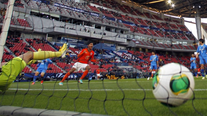 Two goals from Cesar Delgado and one from Jesus Corona (above) put the CONCACAF champions through [Reuters]