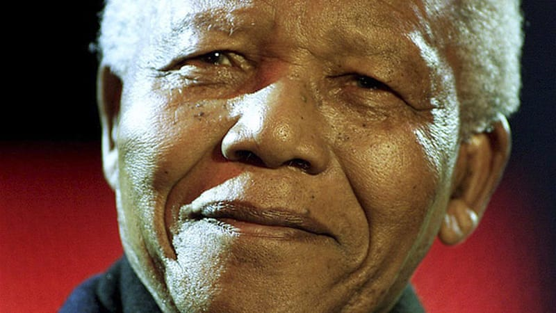 Former South African President Nelson Mandela was admitted to hospital in December 2012 for medical tests [Reuters]
