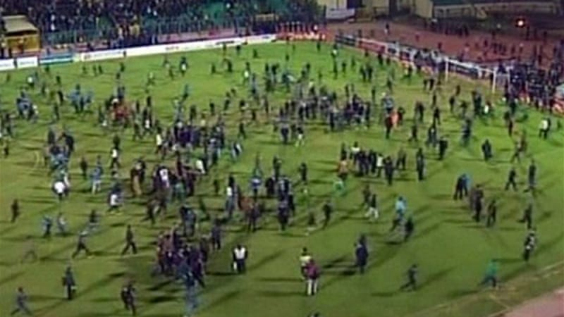 The Egyptian side were banned after more than 70 fans died at their Port Said stadium in violent clashes against Al Ahly in February [EPA]