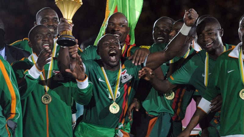 Zambia surprised everyone last year after beating favourites Ivory Coast in a thrilling penalty shootout [EPA]