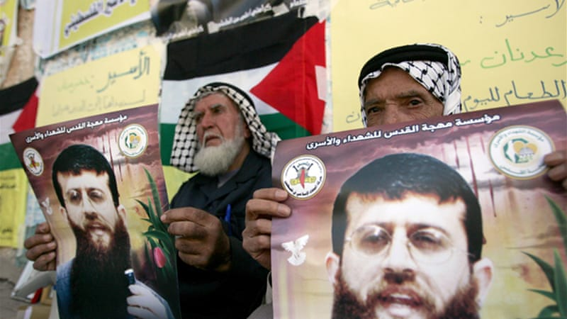 Khader Adnan is entering his 61st day of a hunger strike in an Israeli prison [EPA]