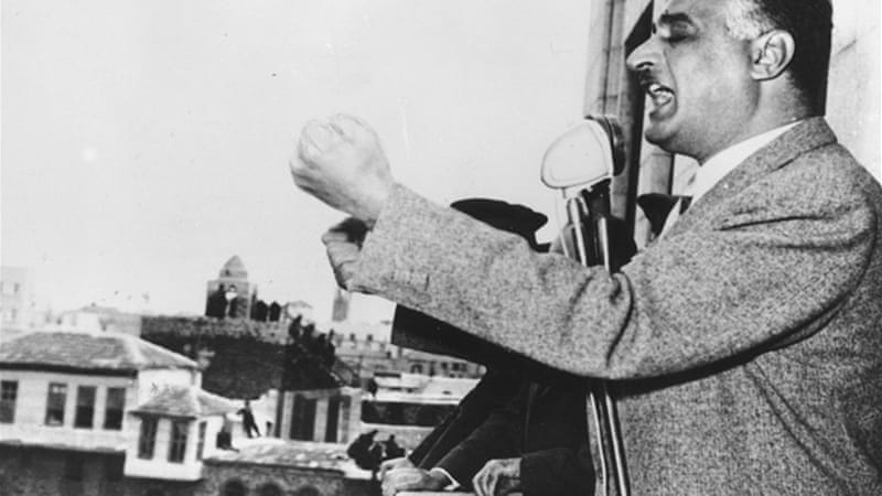 Can the clash between Nasser and the Muslim Brotherhood in the 1950s teach any lessons to Egypt's rulers today?  [GALLO/GETTY]