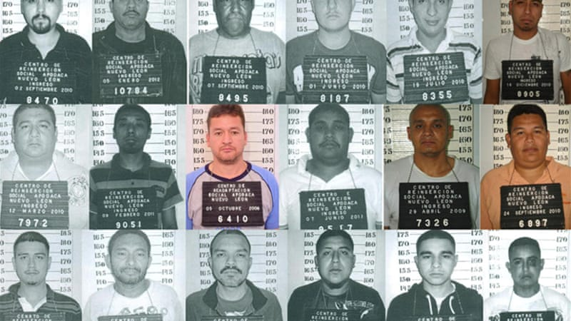 Governor of Nuevo Leon has announced rewards as high as $775,000 for the 30 Zetas members on the run [EPA]