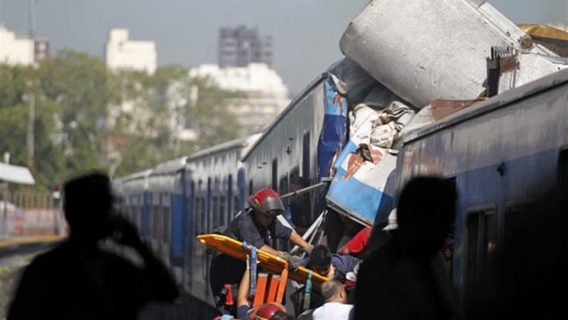 Dozens killed in Argentina train crash