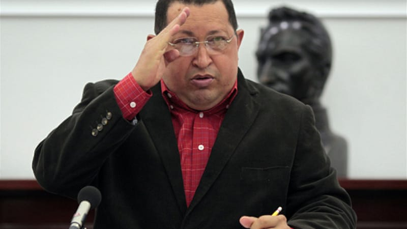 Hugo Chavez has sided with Syrian President Bashar al-Assad, even referring to him as 'our brother' [Reuters]