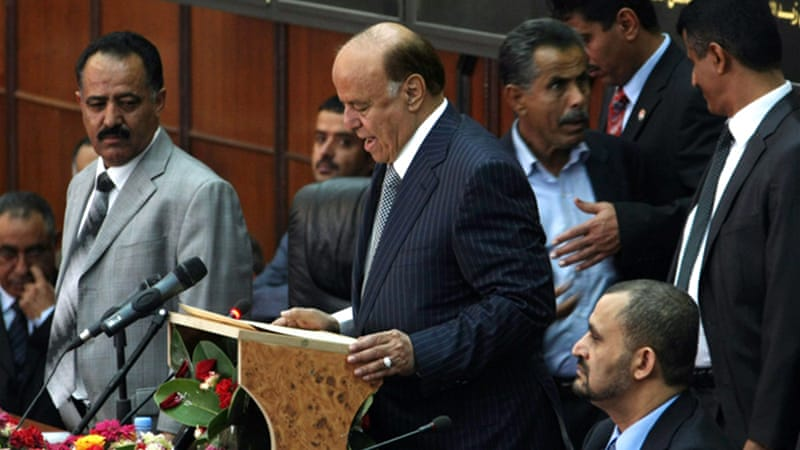The attack comes a week after new president Abd-Rabbu Mansour Hadi ordered a restructuring of army [AFP]