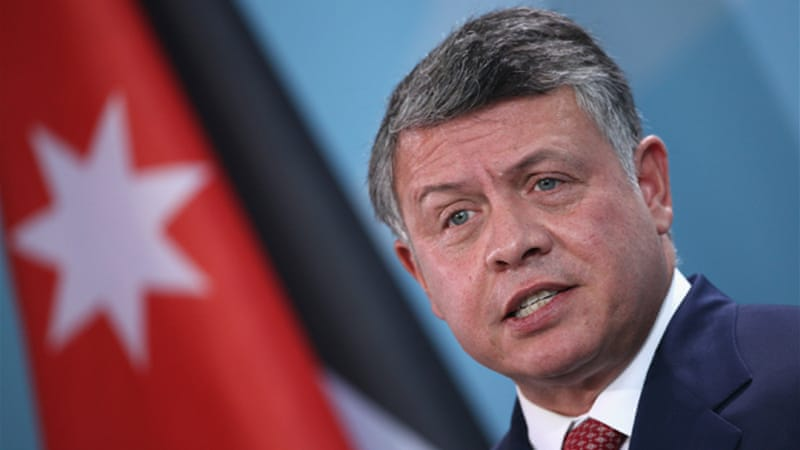 King Abdullah II must be hoping to defuse tensions and mend his fortunes [GALLO/GETTY]