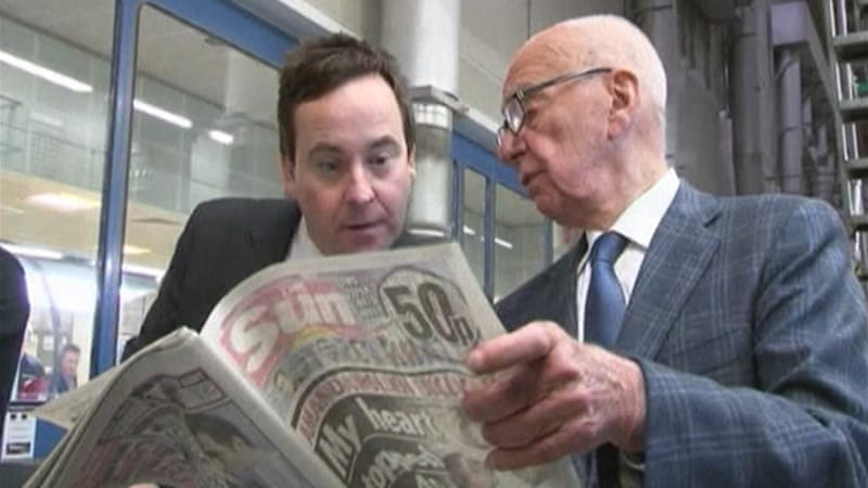 Murdoch was forced to shut the tabloid after allegations of widespread phone tapping by its journalists [Al Jazeera]