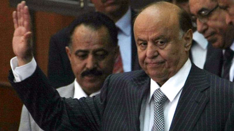 President Abd Rabbu Mansour Hadi vowed to restore security across the impoverished nation [AFP]